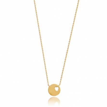 Halsketten frauen goldplattiert Aaron rund