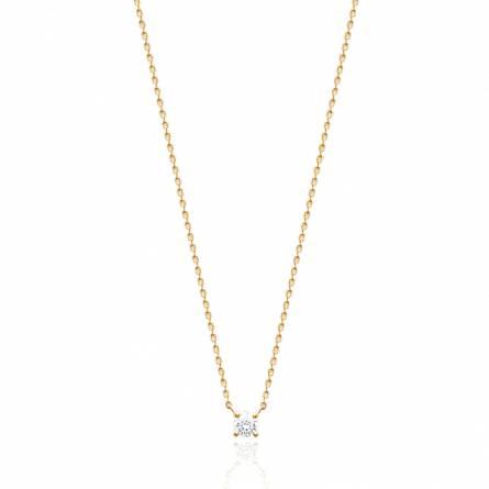 Halsketten frauen goldplattiert Hadelind