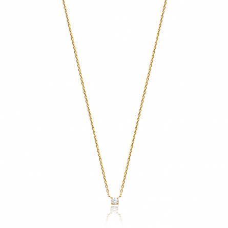 Halsketten frauen goldplattiert Hadriana