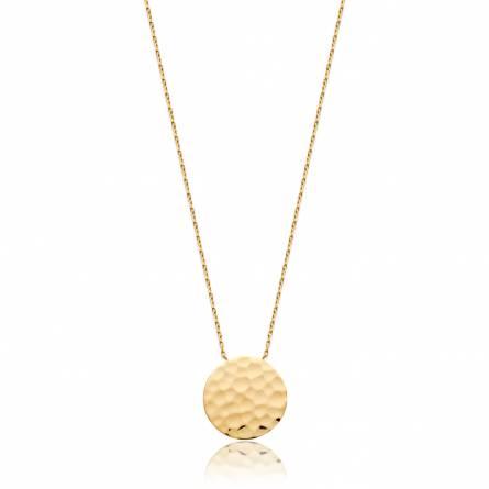Halsketten frauen goldplattiert MAXIME rund