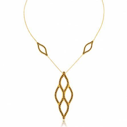 Halsketten frauen goldplattiert Nemcha