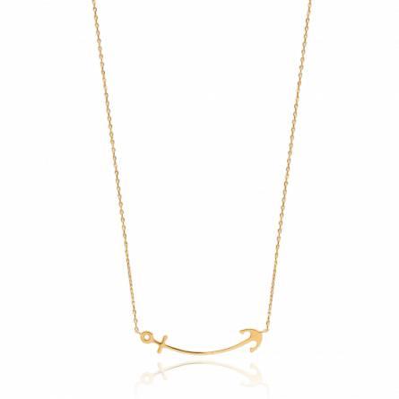 Halsketten frauen goldplattiert Racilia