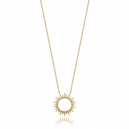Halsketten frauen goldplattiert Soleils
