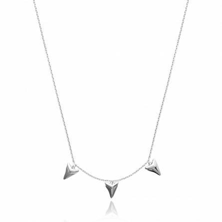 Halsketten frauen silber Alodie dreieck