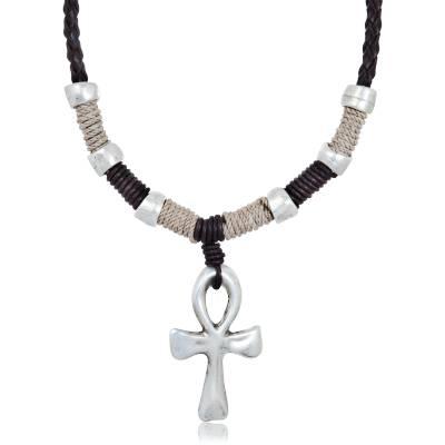Halsketten herren leder