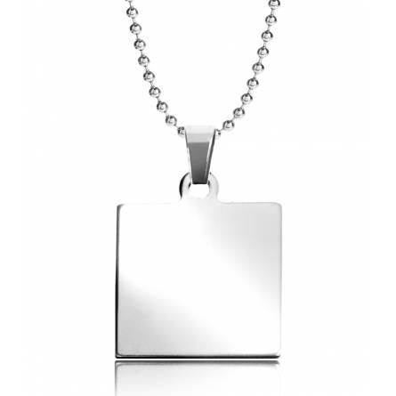 Halsketten stahl Jean quadratich kugelkette