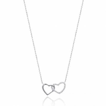 Halskettingen dames zilver Grandiose harten