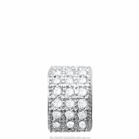 Hangers dames zilver Bodil
