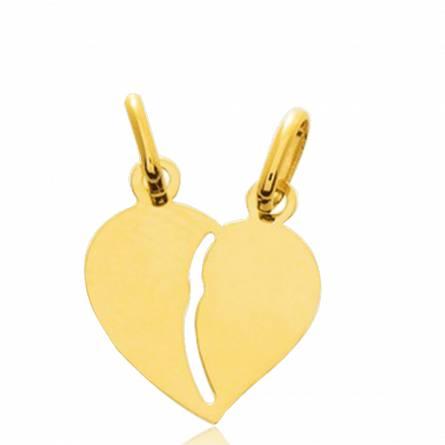 Hangers goud Sectionnable abiel harten geel