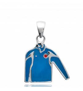 Hangers heren zilver Ahriman blauw