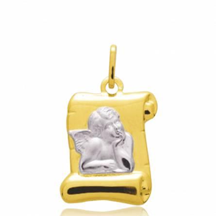 Hangers kind goud  Ange Raphaël parchemin perkament