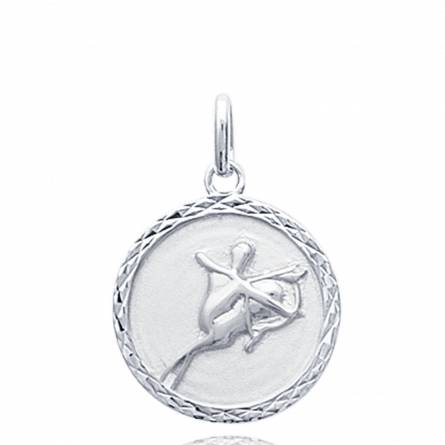 Hangers kind zilver medaillon