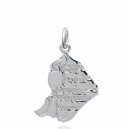 Hangers zilver Guyane landen