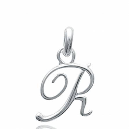 Hangers zilver Traditionnel letters