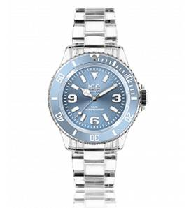 Horloges dames plastic ICE Pure blauw