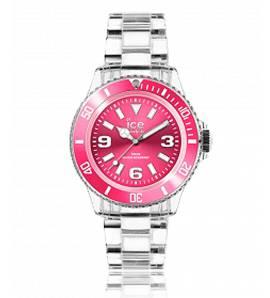 Horloges dames plastic ICE Pure roze