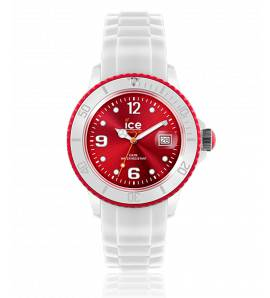 Horloges dames silicone  ICE WHITE wit