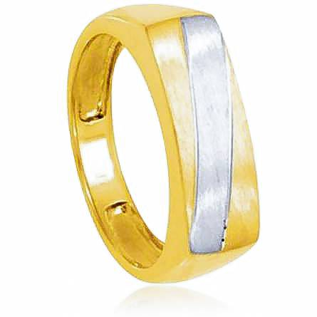 Man gold plated Aedhan ring