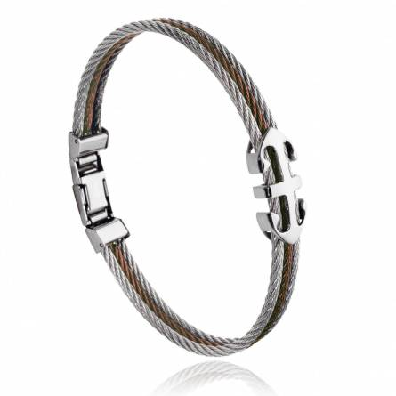 Man stainless steel Akri bracelet