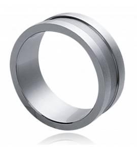 Man stainless steel Apollinariya ring