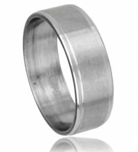 Man stainless steel Cap Horn ring