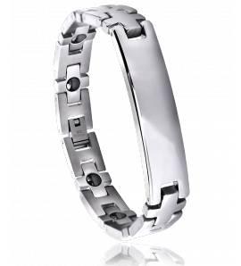 Man stainless steel Dévotion bracelet