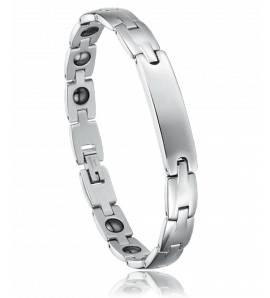 Man stainless steel Enigma bracelet
