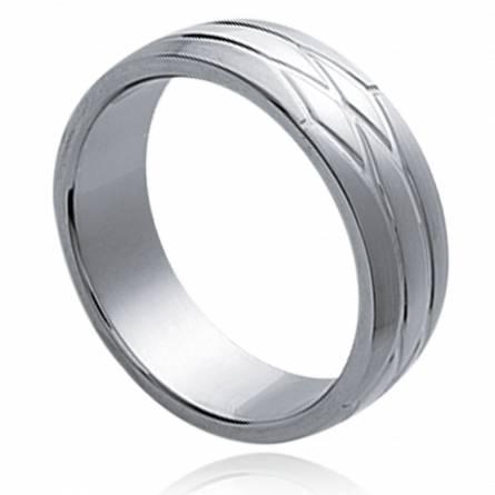 Man stainless steel Inésis ring