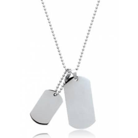 Man stainless steel Joe necklace