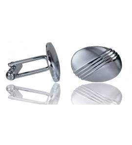 Man stainless steel Lineaire cufflinks