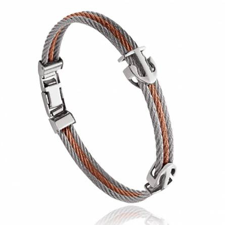 Man stainless steel Quadratus bracelet