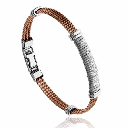 Man stainless steel Quentin bracelet