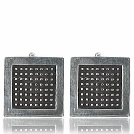 Minimaliste carrée Earrings