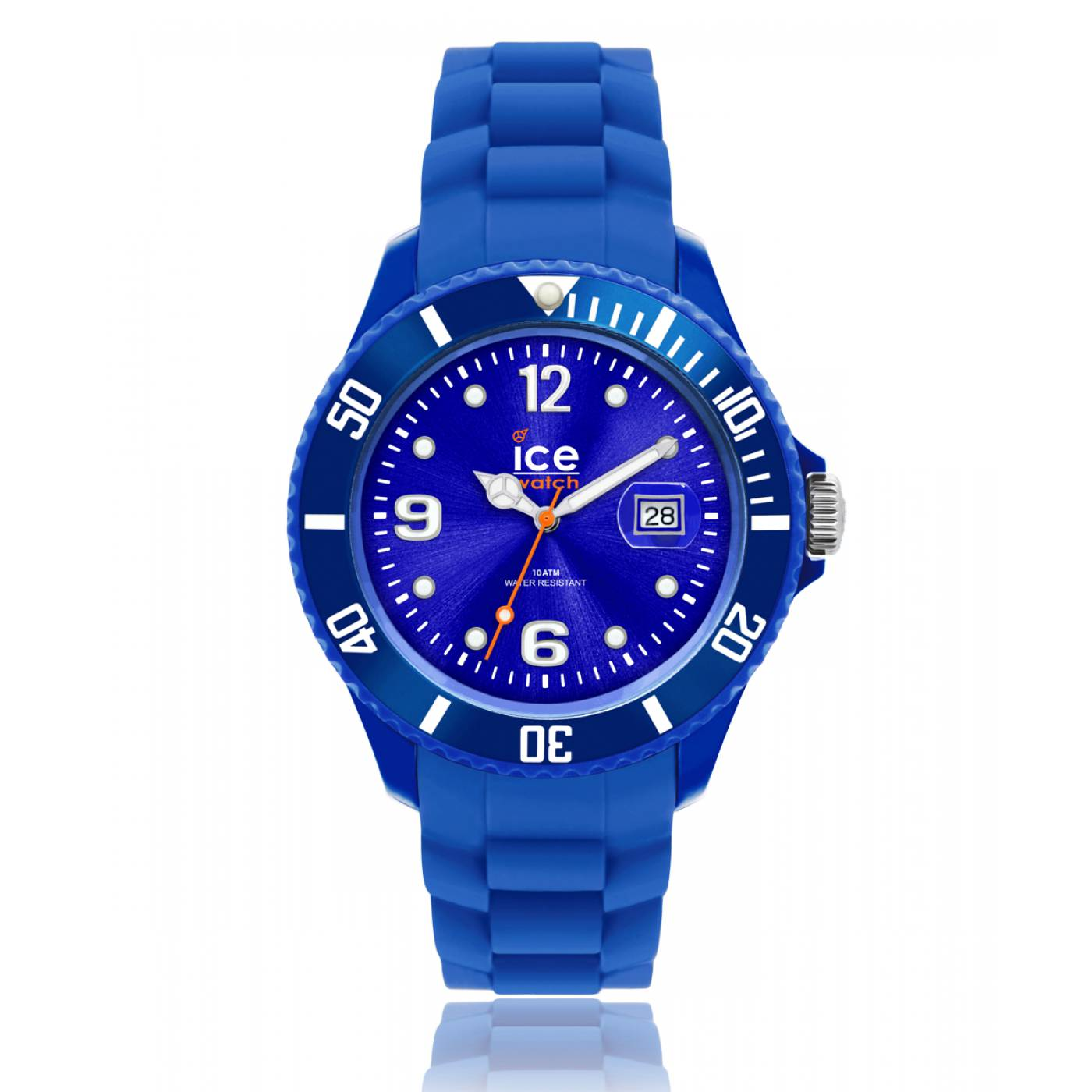 montre homme femme ice forever silicone bleu ice watch. Black Bedroom Furniture Sets. Home Design Ideas