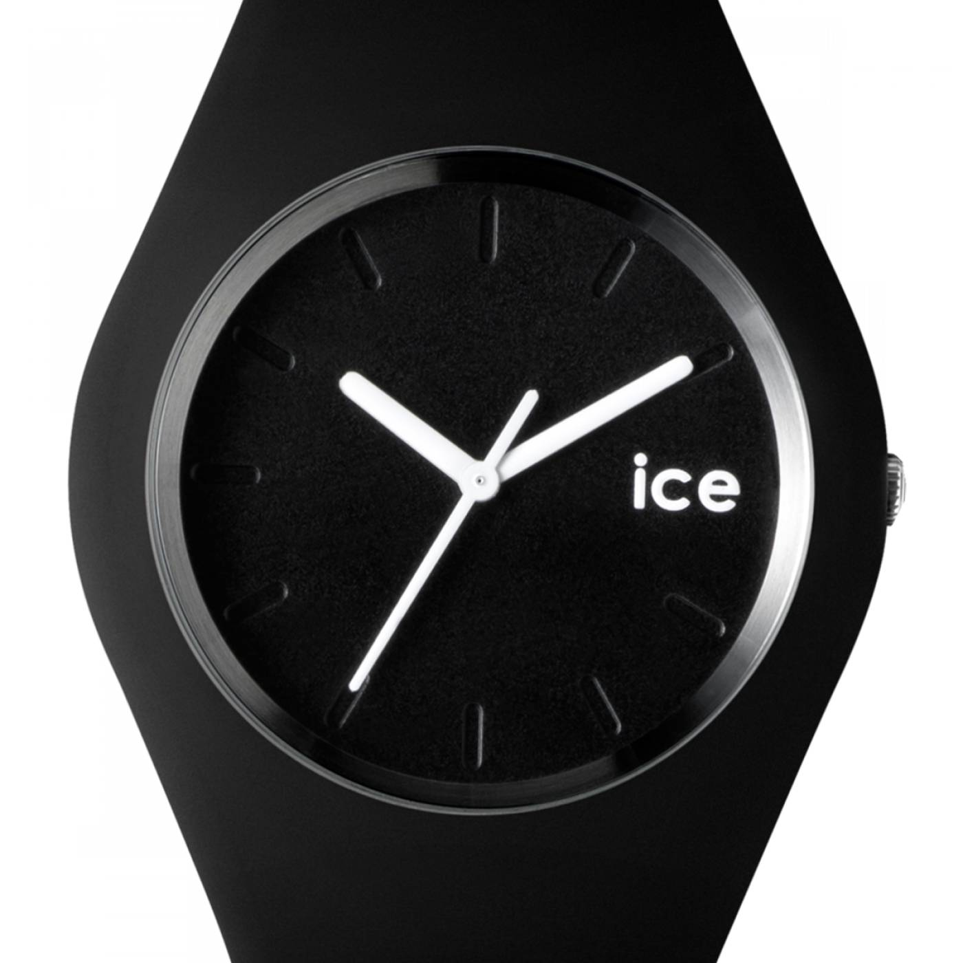 montre homme femme ice noir ice watch. Black Bedroom Furniture Sets. Home Design Ideas