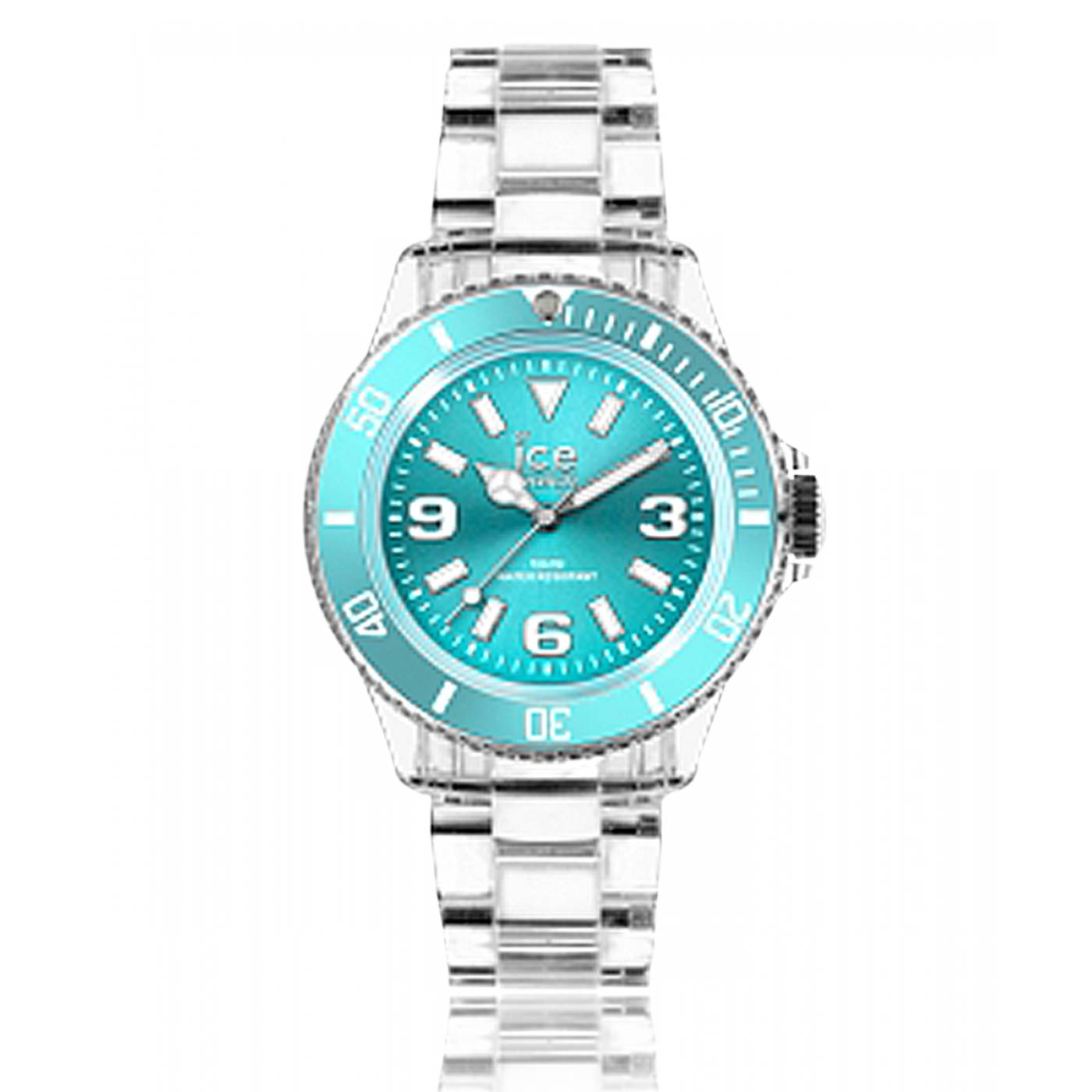 montre homme femme ice pure plastique turquoise ice watch. Black Bedroom Furniture Sets. Home Design Ideas