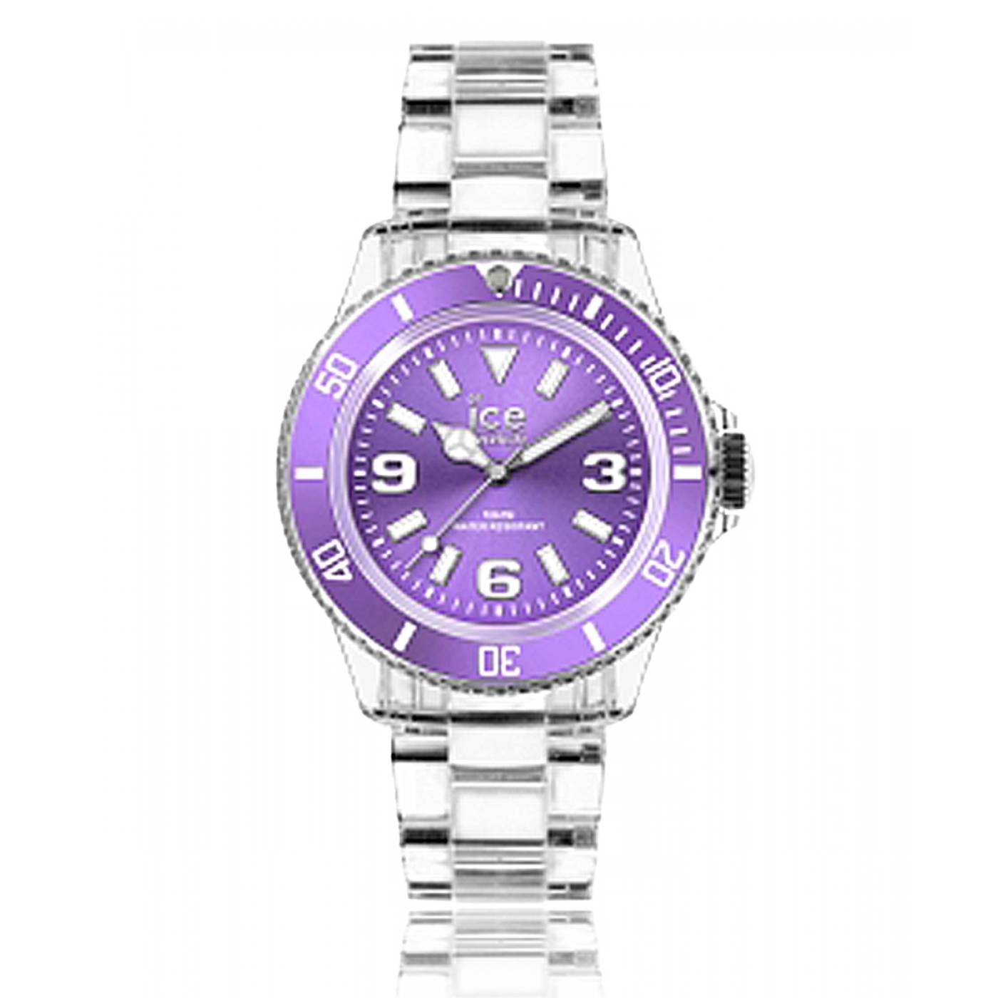 montre homme femme ice pure plastique violet ice watch. Black Bedroom Furniture Sets. Home Design Ideas