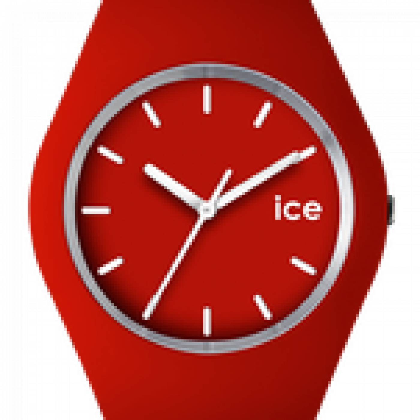 montre homme femme ice silicone rouge ice watch. Black Bedroom Furniture Sets. Home Design Ideas