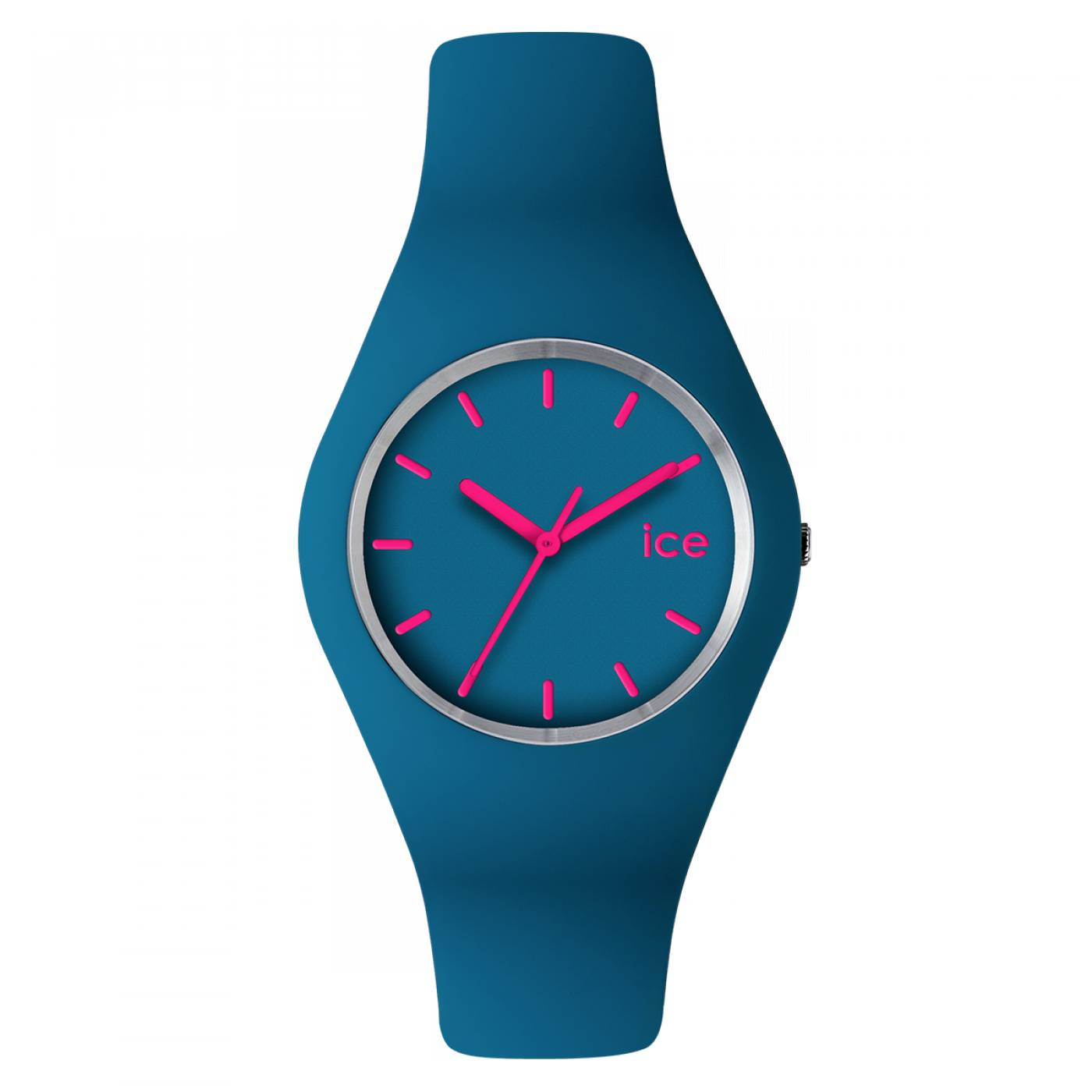 Montre homme femme ice silicone turquoise ice watch - Montre ice watch bleu turquoise ...