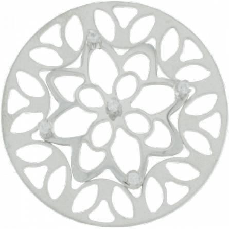 MY iMenso insigne fleur strass