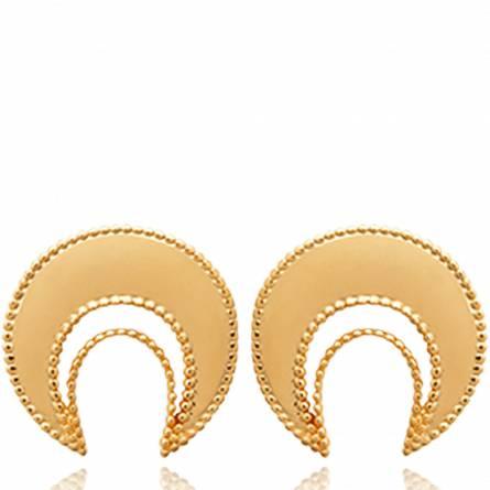 Ohrringe frauen goldplattiert Dalia