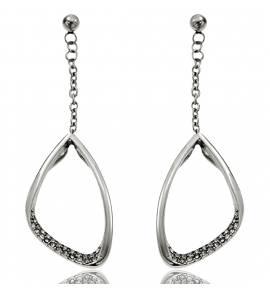 Ohrringe frauen stahl Design