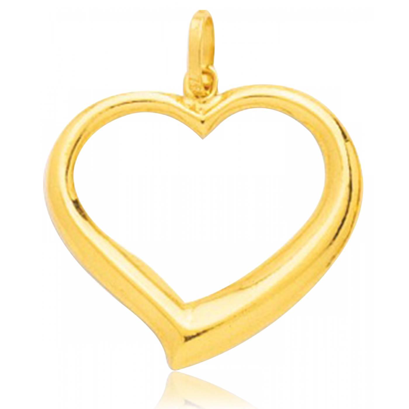 pendentif coeur homme femme cupidon or jaune 9 carats jaune murat paris. Black Bedroom Furniture Sets. Home Design Ideas