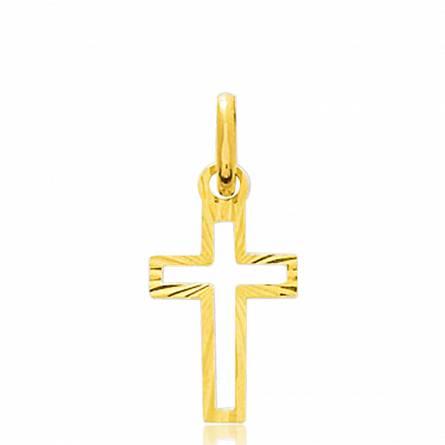 Pendentif Croix Or Ajourée Kazimir