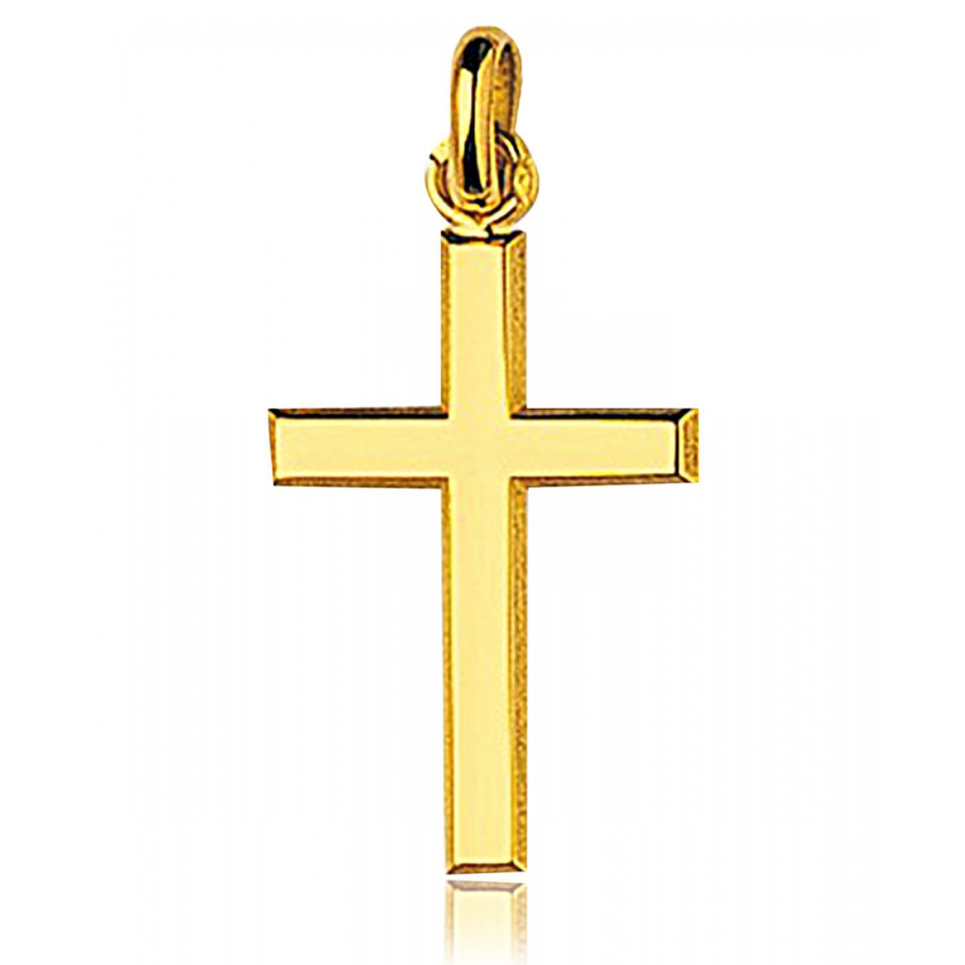 pendentif croix homme femme germogen or jaune 9 carats bijoux paris. Black Bedroom Furniture Sets. Home Design Ideas