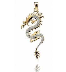 Pendentif dragon shengyu
