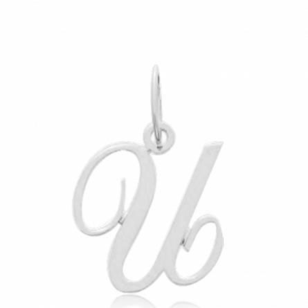 Pendentif lettre U or375