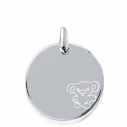 Pendentif médaille nourson