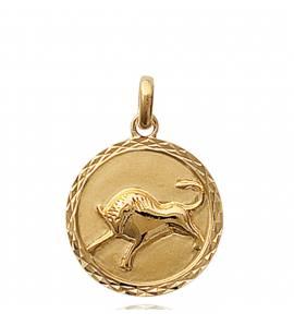 Pendentif médaillon taureau