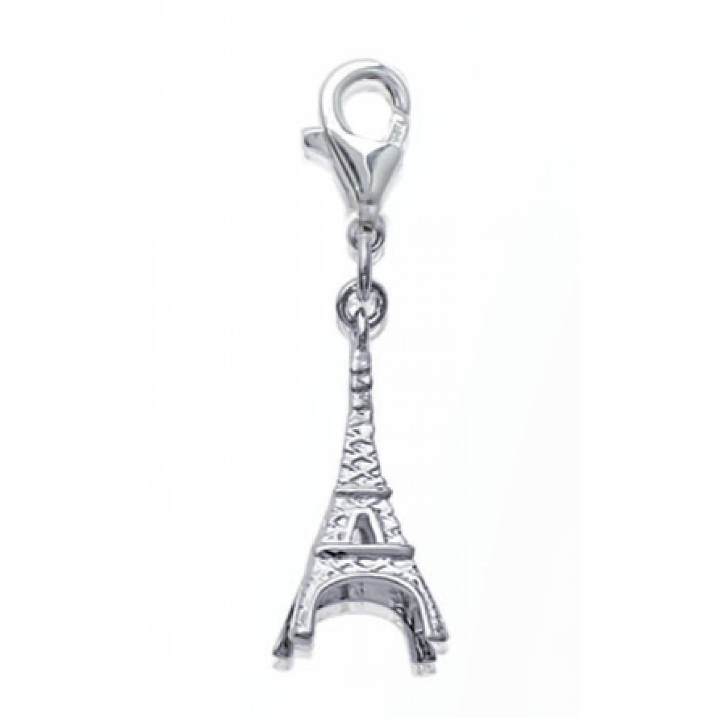 pendentif femme tour eiffel argent. Black Bedroom Furniture Sets. Home Design Ideas